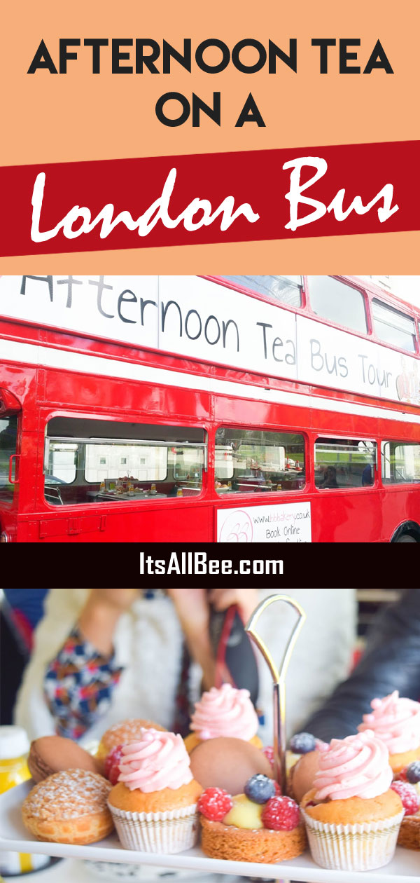 Afternoon tea bus tour in London - A review of BB Bakery's afternoon tea with a tour of London