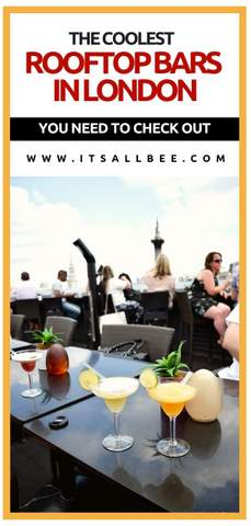 Vista Bar On Trafalgar Square Plus London's Best Roof Top Bars #traveltips #London #nightlife #bars #views #londoneye #drinks #after5