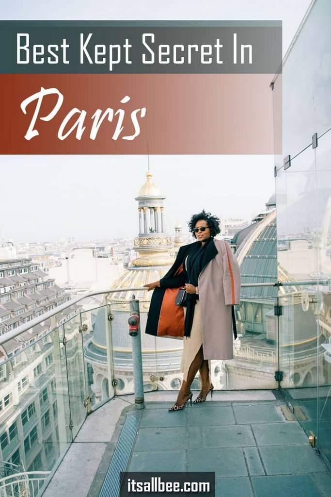 Deli-Cieux Printemps Rooftop Cafe   Best Kept Secret In Paris