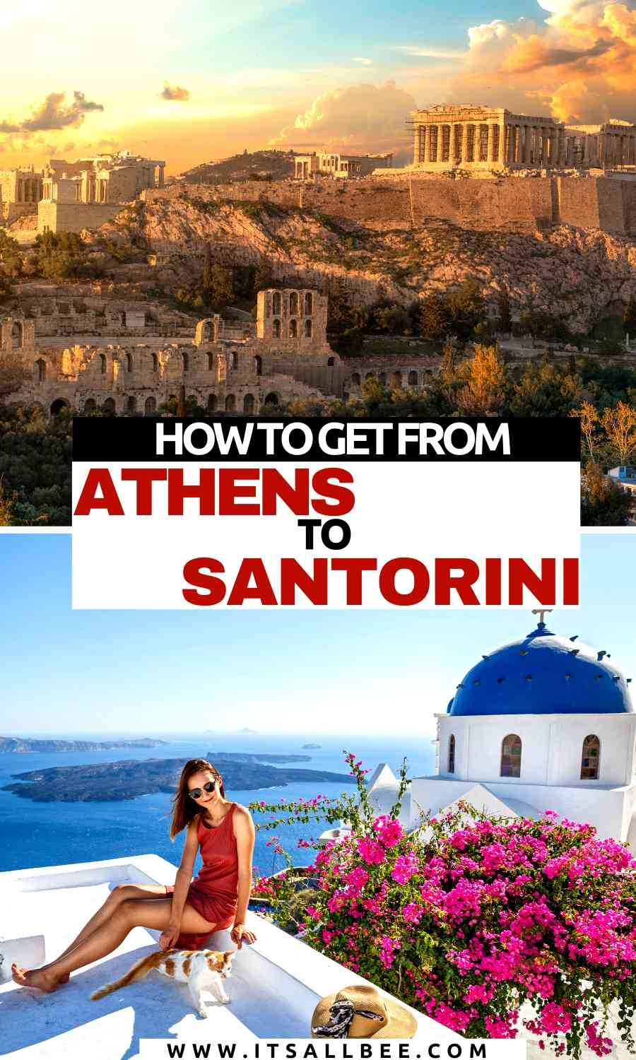 How To Get to Santorini from Athens