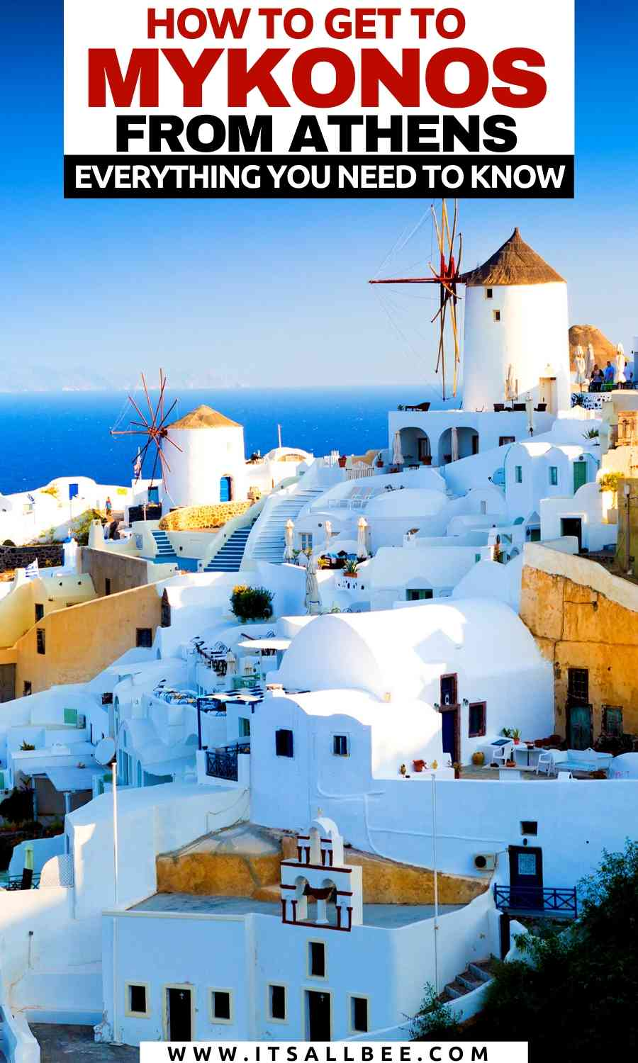 Get to Mykonos from Athens