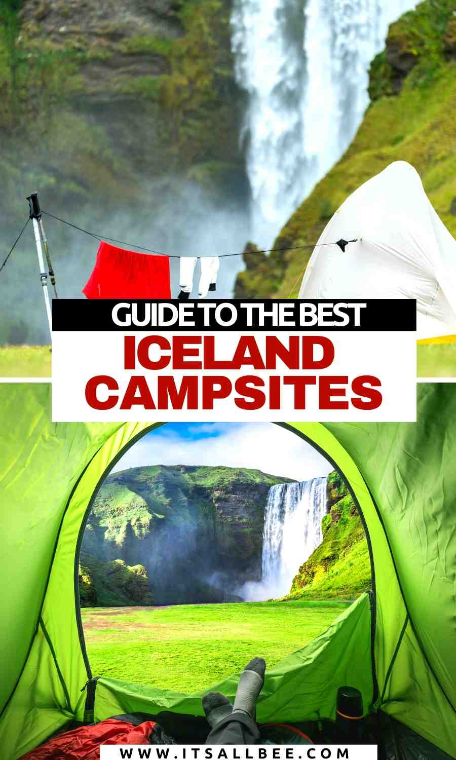 Camping near blue lagoon | Places to camp in Iceland | camping in Iceland | Campsites near waterfalls in Iceland