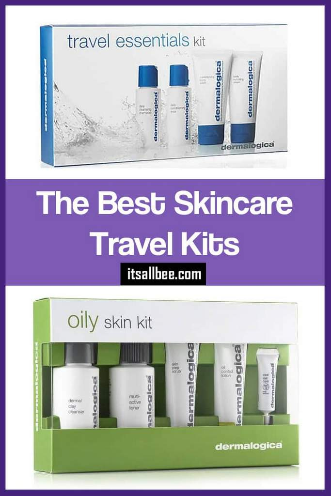 Skincare Travel Sets - Glow on the Go with these Travel Skincare Sets - Find the best skincare travel kit for your skin type! Both high end and drugstore! Skincare tips, Skincare products for all.