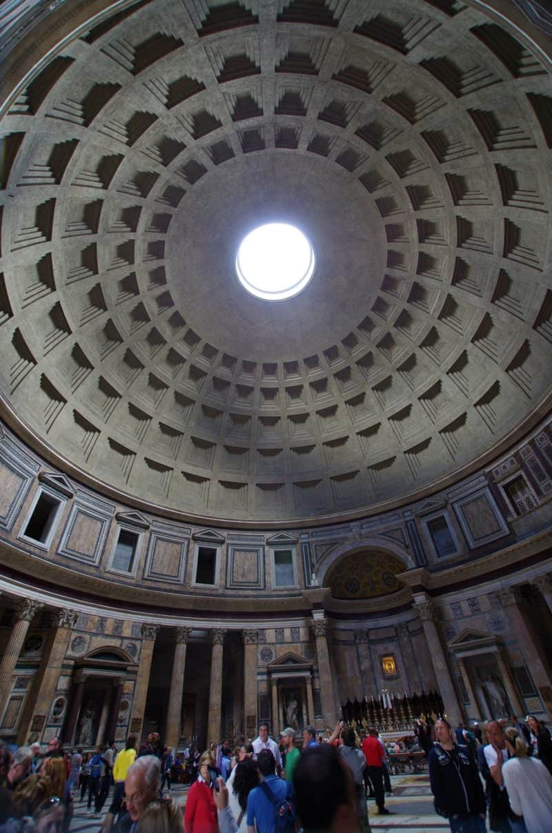 pantheon dome rome - Rome Itinerary 4 days - How to Make The Most of Your Time In Rome & Vatican City