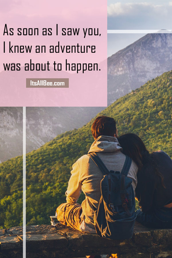 Wanderlust couple quotes - Quotes about wanderlust soul