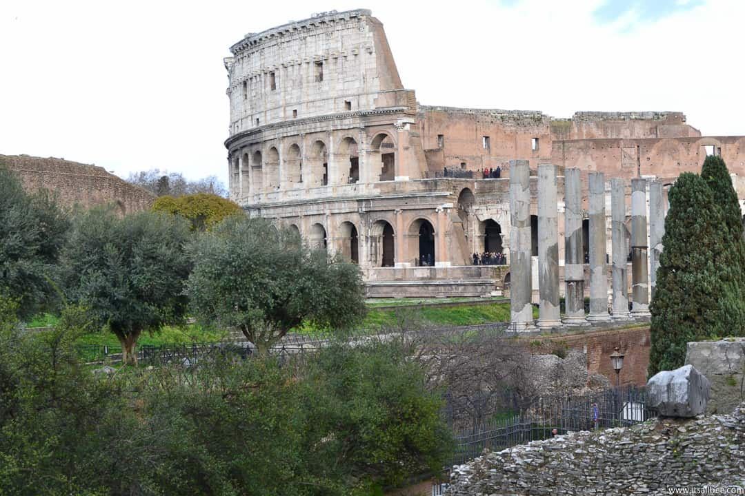 Colosseum Rome Italy - Rome Itinerary 4 days - How to Make The Most of Your Time In Rome & Vatican City