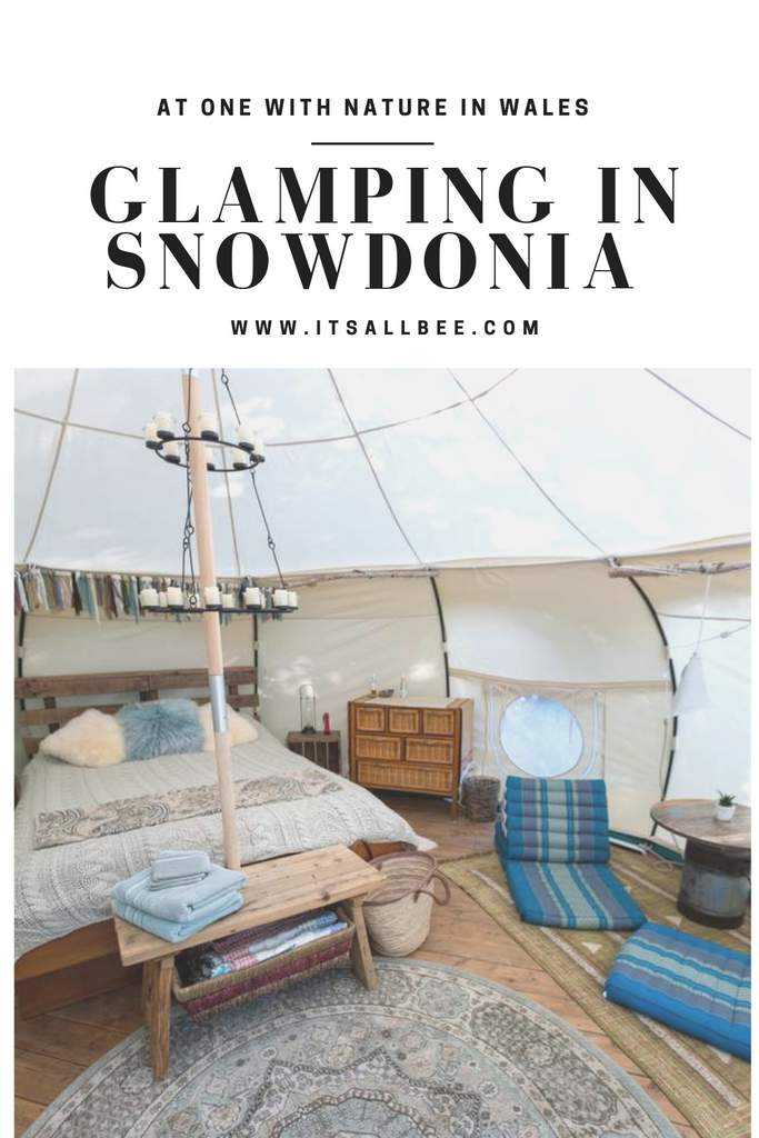 Glamping in Snowdonia - Glamping accommodations with views of mountains in Snowdonia.