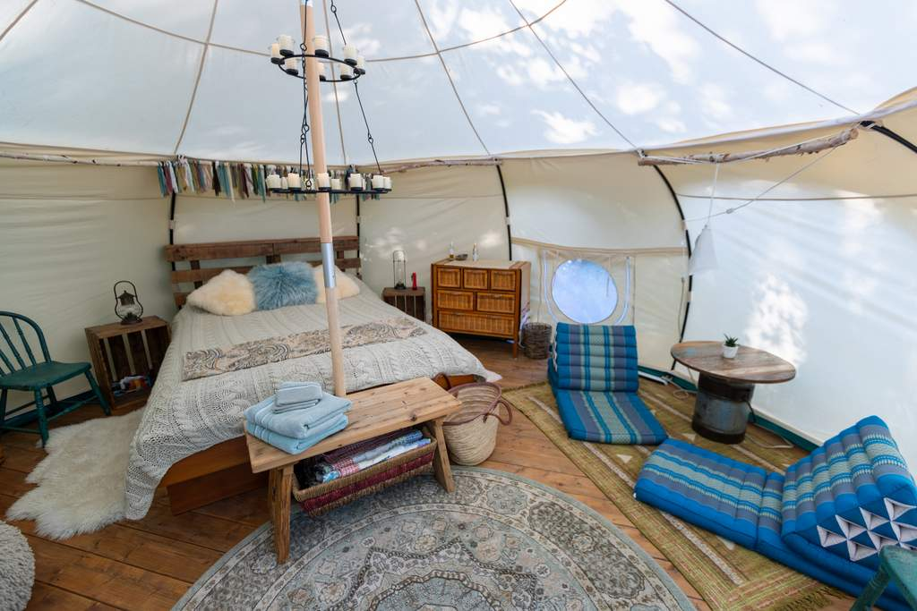 Glamping Yurt in Snowdonia