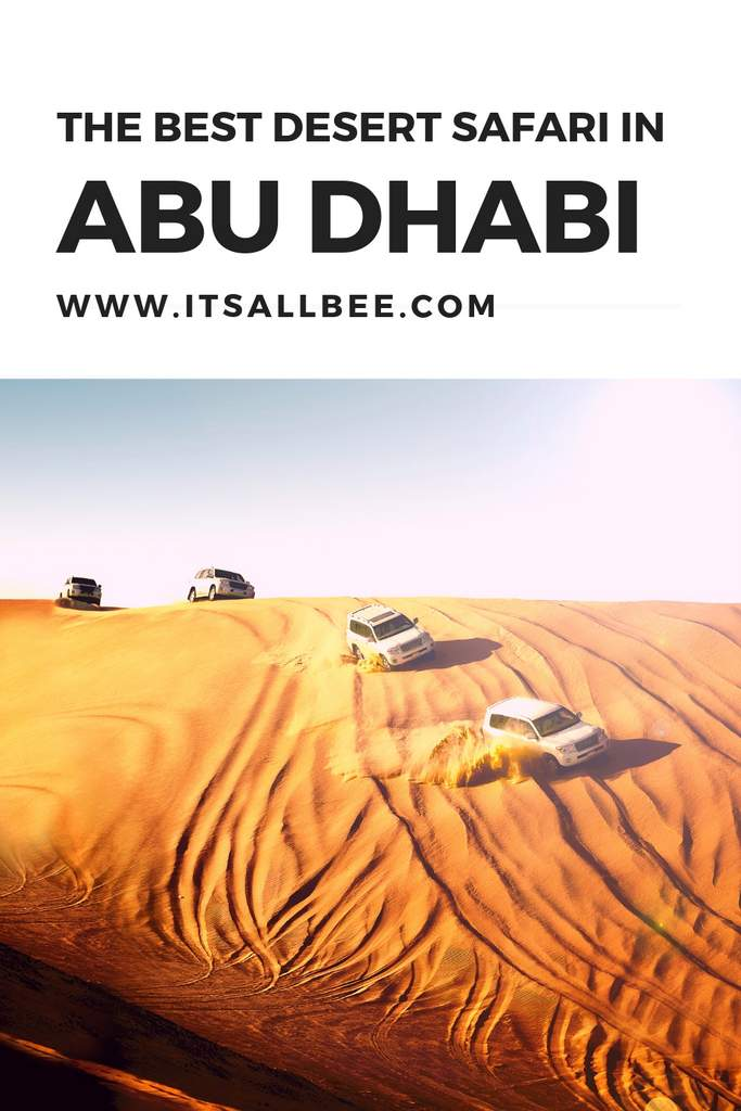 The Best Desert Safari in Abu Dhabi