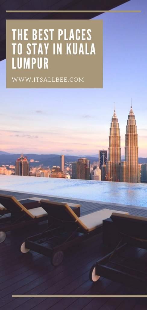 The hotels in Kuala Lumpur with infinity pools - best hotel pool kuala lumpur
