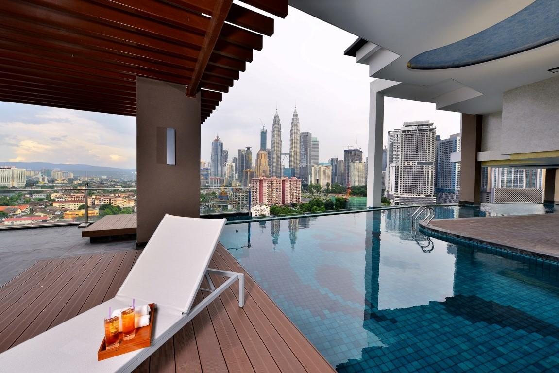 Cool Hotels In Kuala Lumpur With Infinity Pool Views Of The City