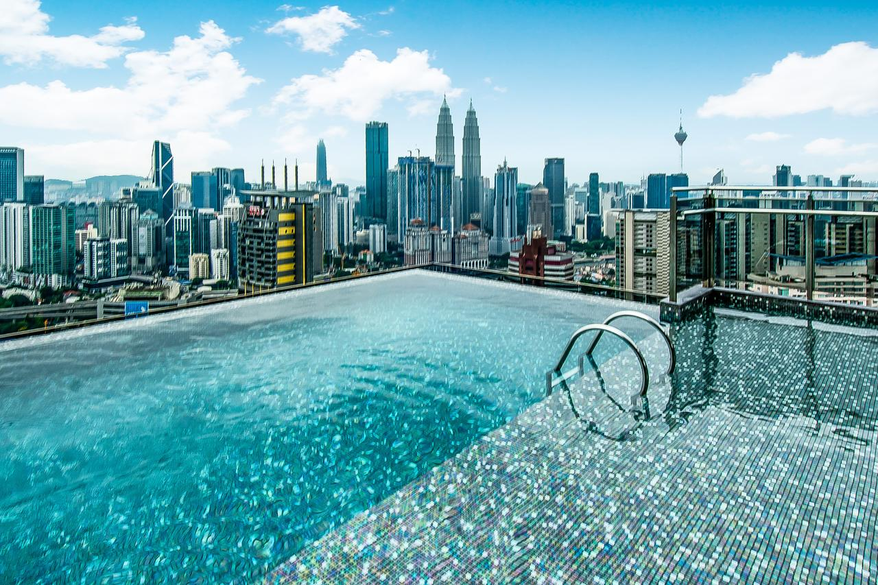 Cool Hotels In Kuala Lumpur With Infinity Pool Views Of The City - Kuala Lumpur infinity pool