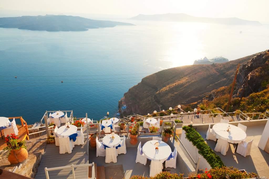 The Best Restaurants In Santorini With Instagrammable Views