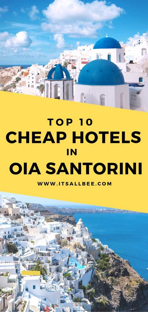 best budget hotels in oia santorini