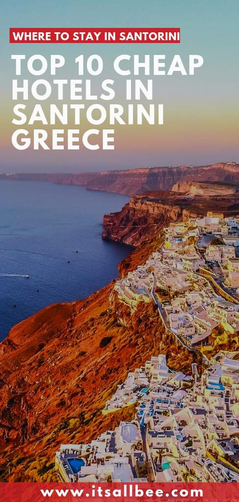 affordable hotels in Oia santorini