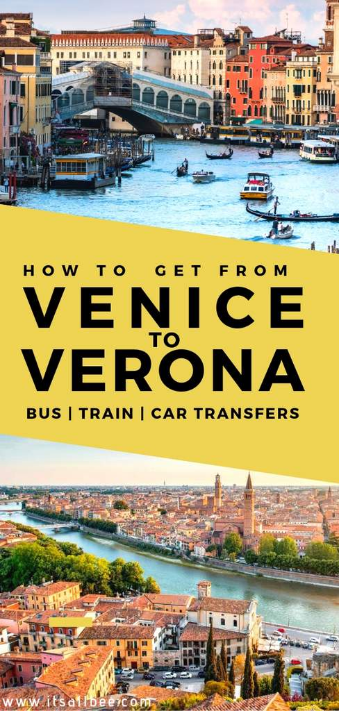 Everything you need to know about how to get from Verona to Venice by train, car and bus.