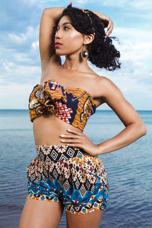 78585601c9d Stunning Kente print swimsuits & African Print Swimwear For Your Next Beach  Vacation