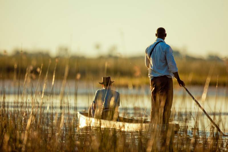 Things to do in Maun Botswana - Mokoro Trips In Maun - Maun Game Sanctuary