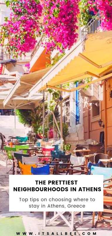 The prettiest neighbourhoods In Athens