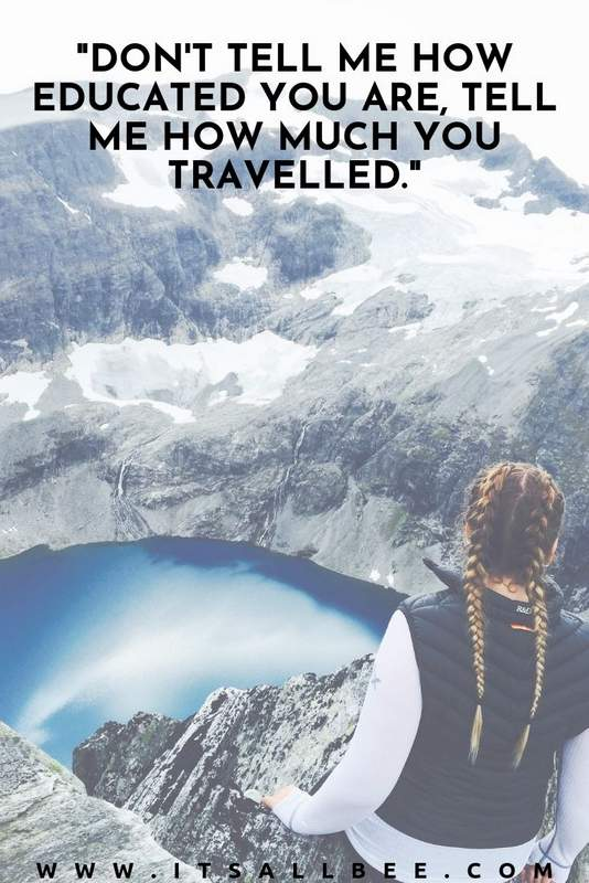 Inspirational Quotes For Travelling Alone - best travel alone quotes I want to travel alone quotes, solo travel girl quotes, single travel alone quotes, travel freedom quotes, #wanderlust #quotes #inspire #vacation #holiday #dare #girls #solo #solotravel #instagramquotes #shortquotes