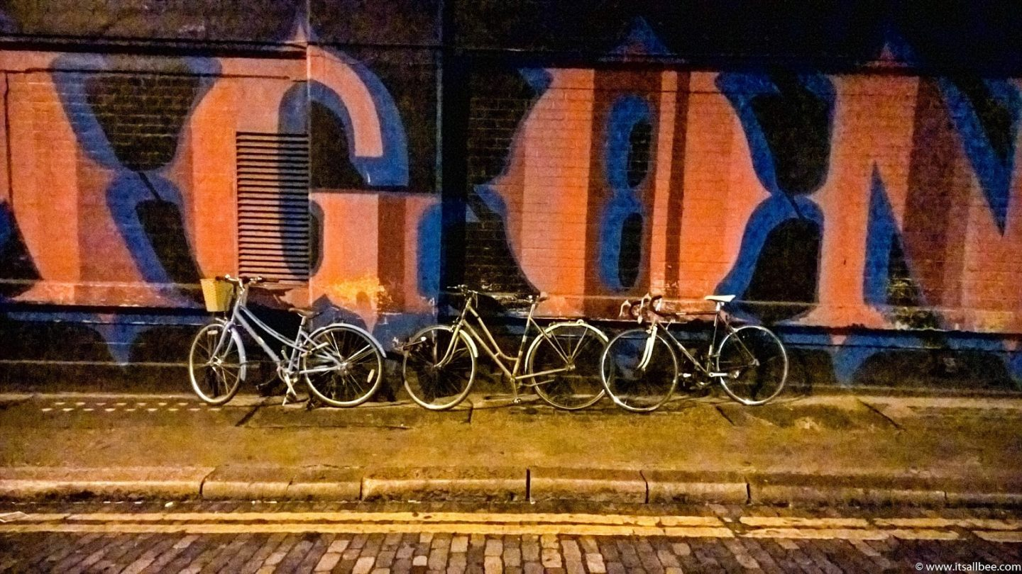 Shoreditch at night