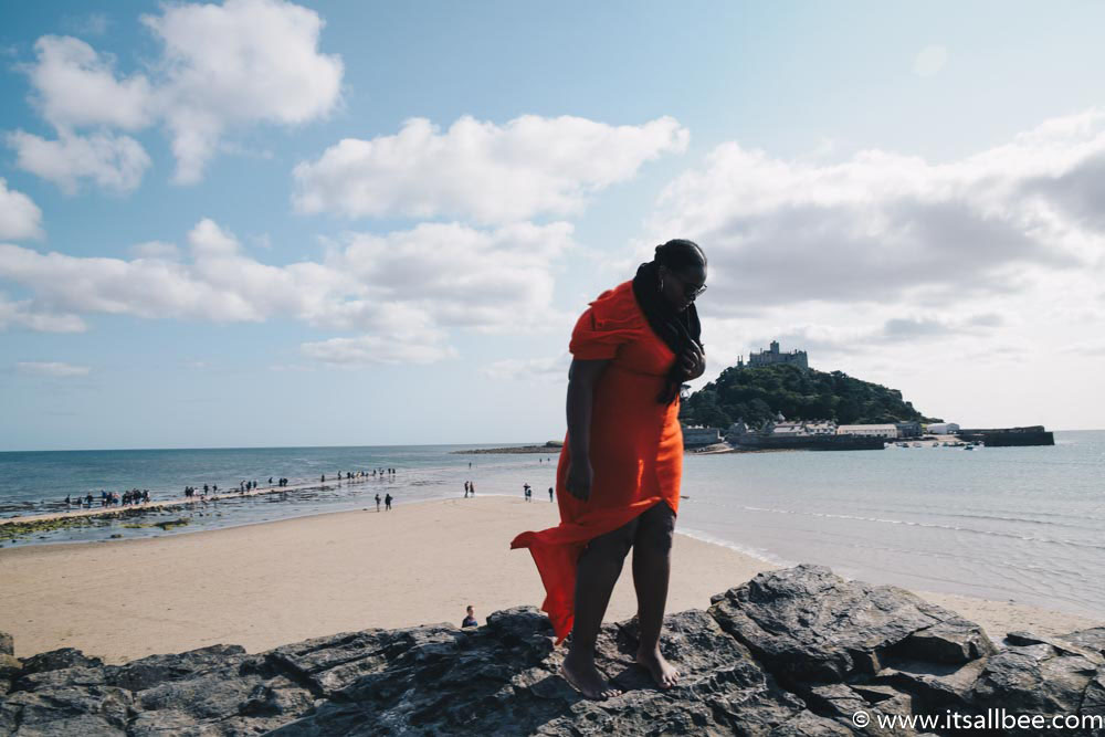 St Michaels Mount Cornwall - How To & Why You Need To Visit - st michaels mount cornwall gardens, ferries, best times to visit, how to get to St Michael's Mount and more. #uk #traveltips #itsallbee #cornwall #devon #penzanance #castles #marazion www.itsallbee.com