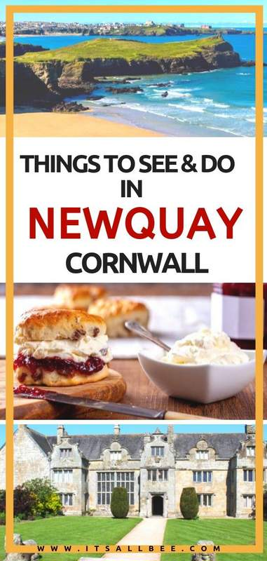 Top Things To Do In Newquay In Cornwall #uk #surfing #beaches #fristal cornish #newquay #britain #cornishicecream
