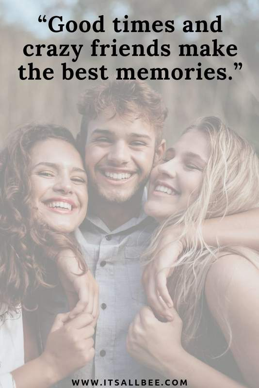 31 Inspirational Quotes About Travelling With Friends - Happiness is travelling with friends - Cool adventure with best friend quotes #Quotes #friends #travel #inspirational #fun #adventures #memories #roadtrips #beach #tan #bestfriends #vacation #holiday #besties #seaside