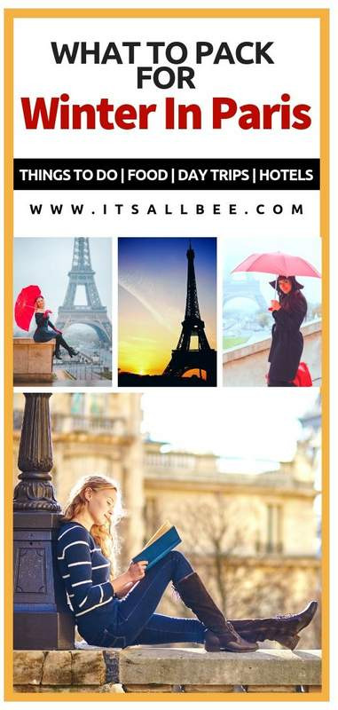 What to pack for Paris in Winter - Tips on essential items for your Paris packing list for winter - What to wear in Paris in December, January, February. What shoes to pack for Paris in Winter. What coat to wear in Paris. Paris outfit ideas #packingtip #travel #Paris #outits #europe #winter #french #peacoat #style #travelstyle