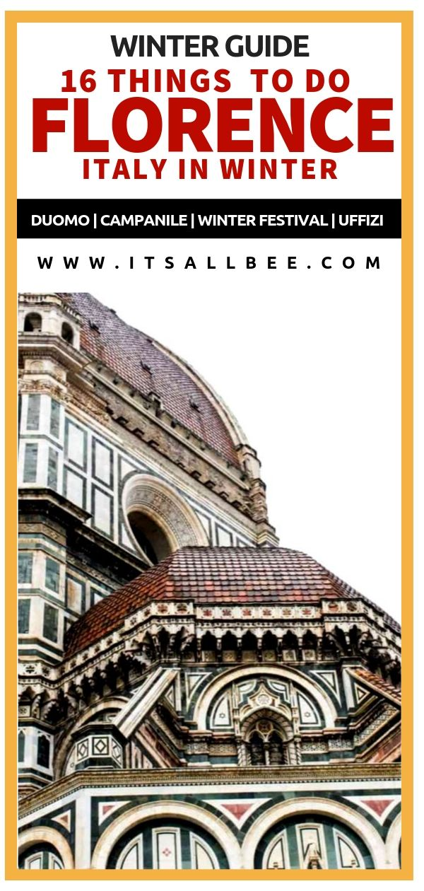 Florence Winter Guide - Things To Do In Florence In Winter. Places to visit in Florence Italy during winter months(December, January, February). #europe #italy #traveltips #winter - winter travel destinations - florence italy food - #destinations #italian #gelato #winterfestival #pontevecchio #duomo