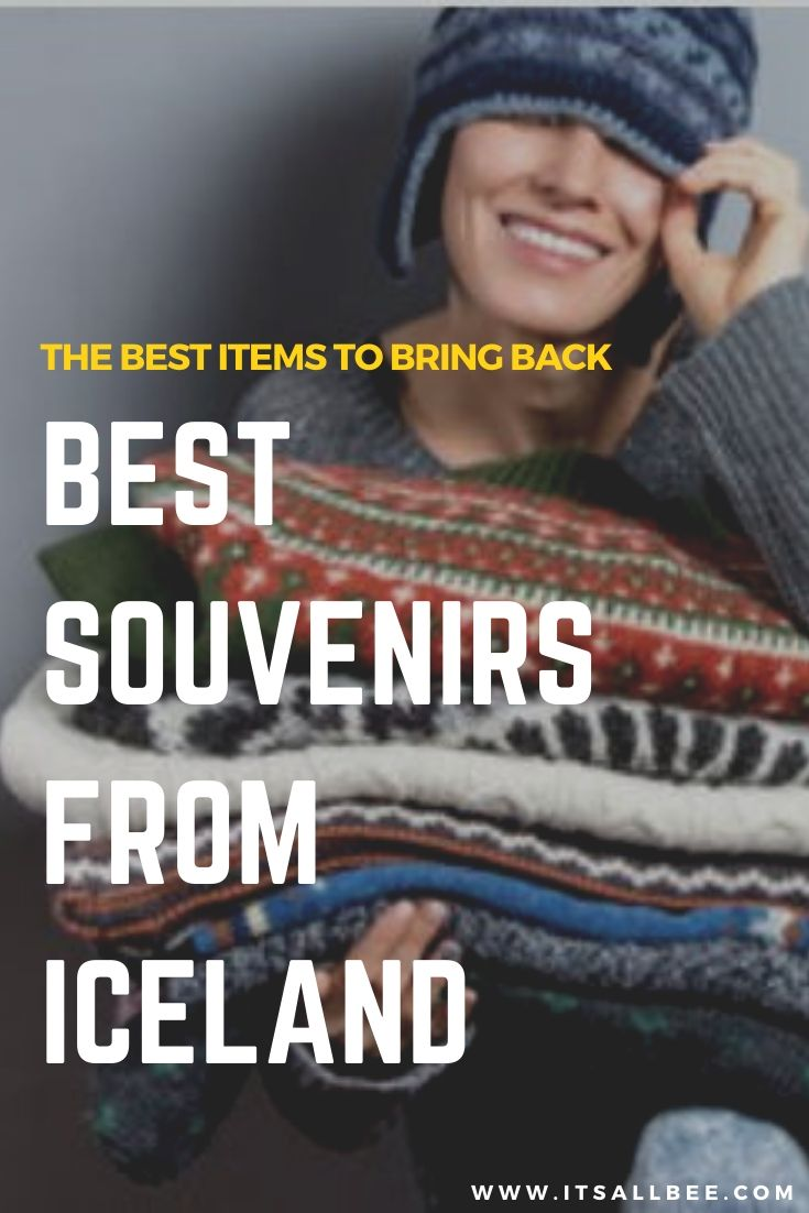 Best Souvenirs From Iceland - Guide to iceland souvenir products to bring back. From iceland souvenirs sweaters, iceland lava stone coasters and whisky rocks. Souvenir ideas from Iceland. Blue Lagoon iceland face mask, glacier gin and more. Plus what to get from Iceland airport. #travel #souvenirs #gifts #reykjavik #airport #shopping