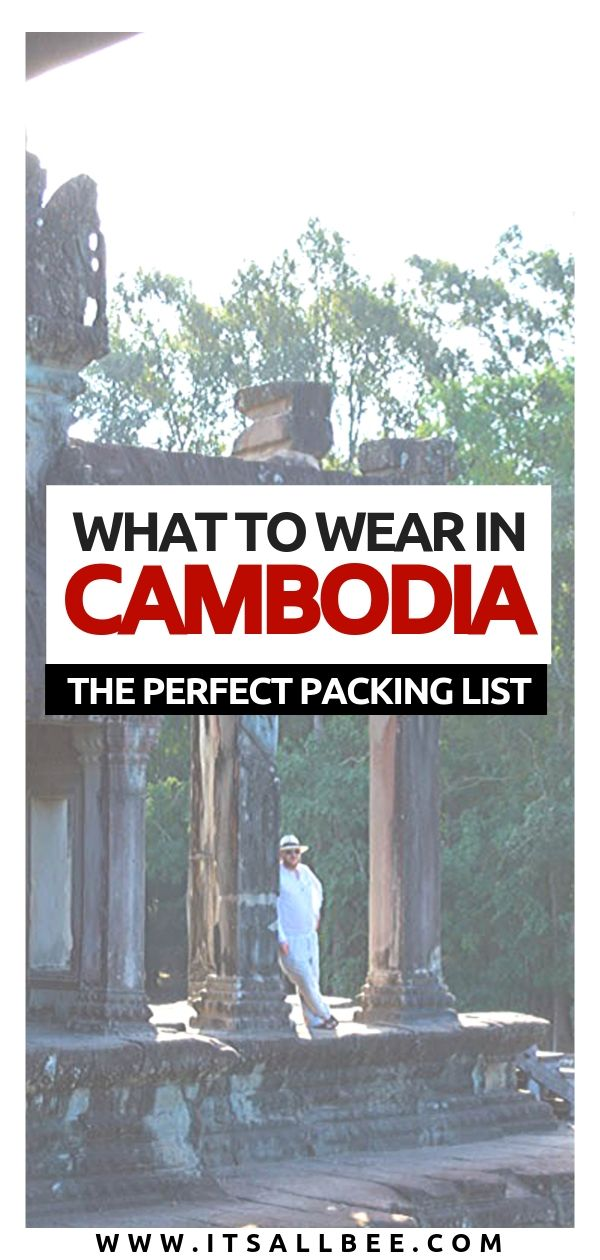 What to wear in cambodia - packing lists - Tips on what to pack for Cambodia. Cambodia outfit ideas, what to pack for travel to Cambodia. Dress code and what to wear in Angkor Wat. #style #siemreap #phnompenh #angkorwat #pubstreet what to pack for cambodia what to wear