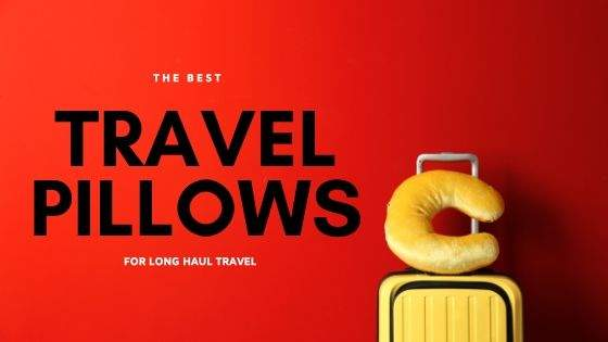 best travel pillow for long haul flights |down travel pillow