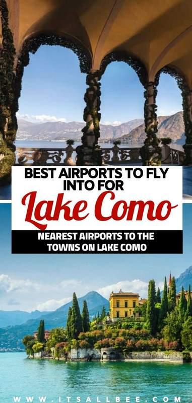 milan airport to bellagio lake como   train from milan airport to varenna lake como  
