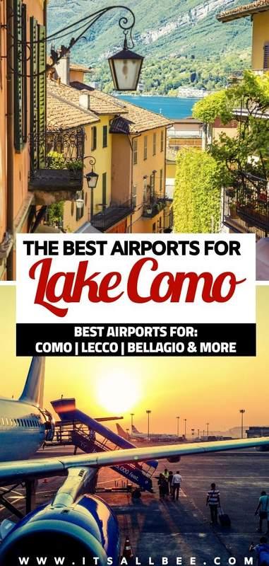 best airport for lake como   lake como italy airport   closest airport to lake como