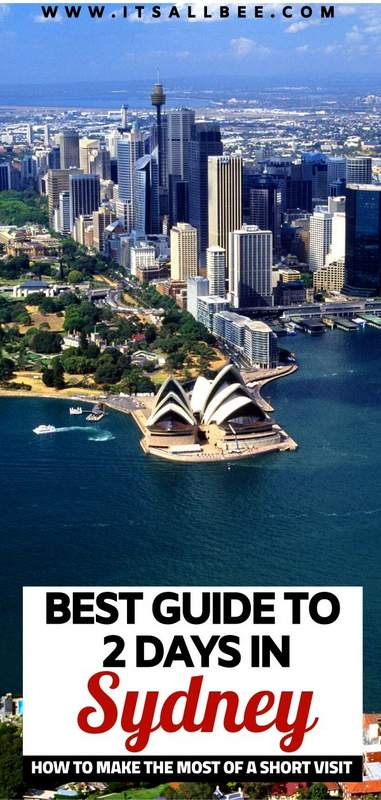 what to do in sydney for 2 days   2 days in sydney what to do