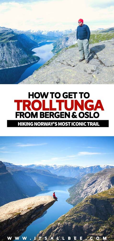 How to get to Trolltunga from Bergen | How to get to Trolltunga from Odda