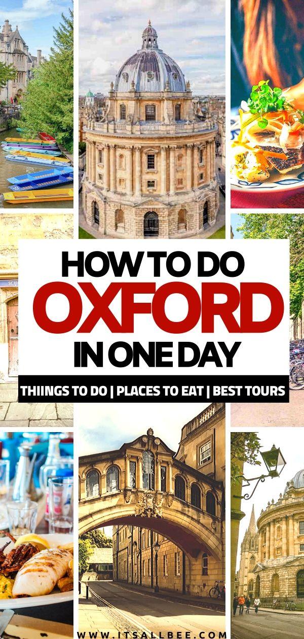 oxford day trip | oxford city walking tour
