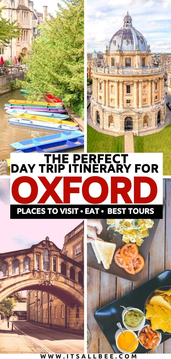 oxford day trip itinerary | oxford what to see in one day