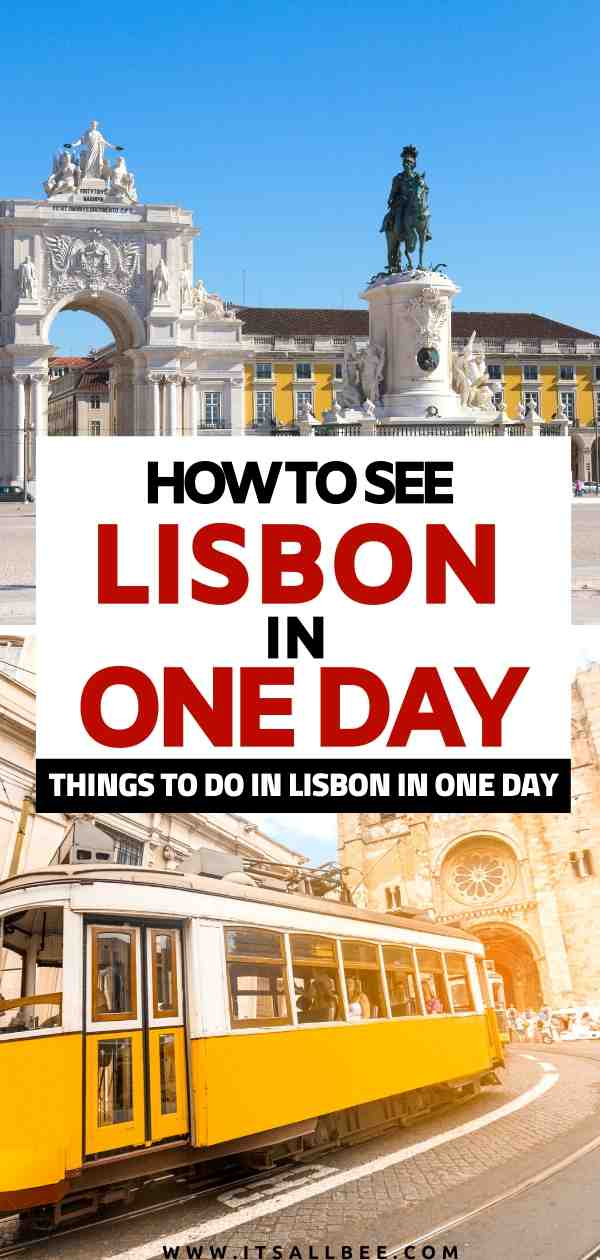 Things to do in Lisbon in one day