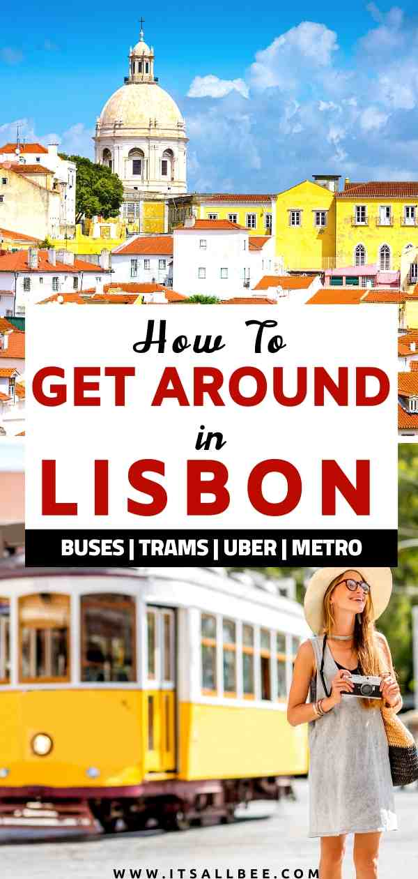 Lisbon public transporttion | Public transportation in Lisbon | Lisbon 24 hour ticket