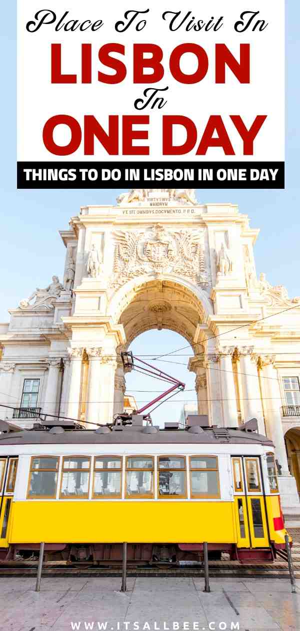 What to see in Lisbon in one day