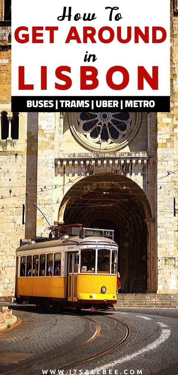 Getting around in lisbon | Lisbon public transport day pass