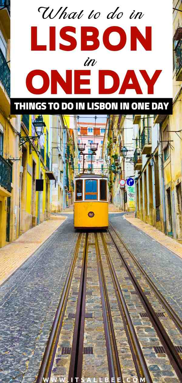 Places to visit in Lisbon in one day