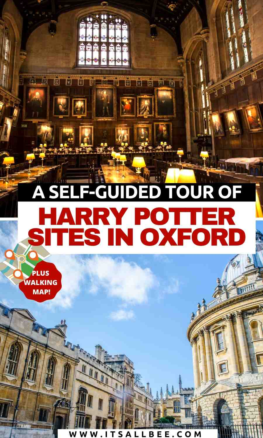 Harry Potter locations in Oxford | harry potter dining hall