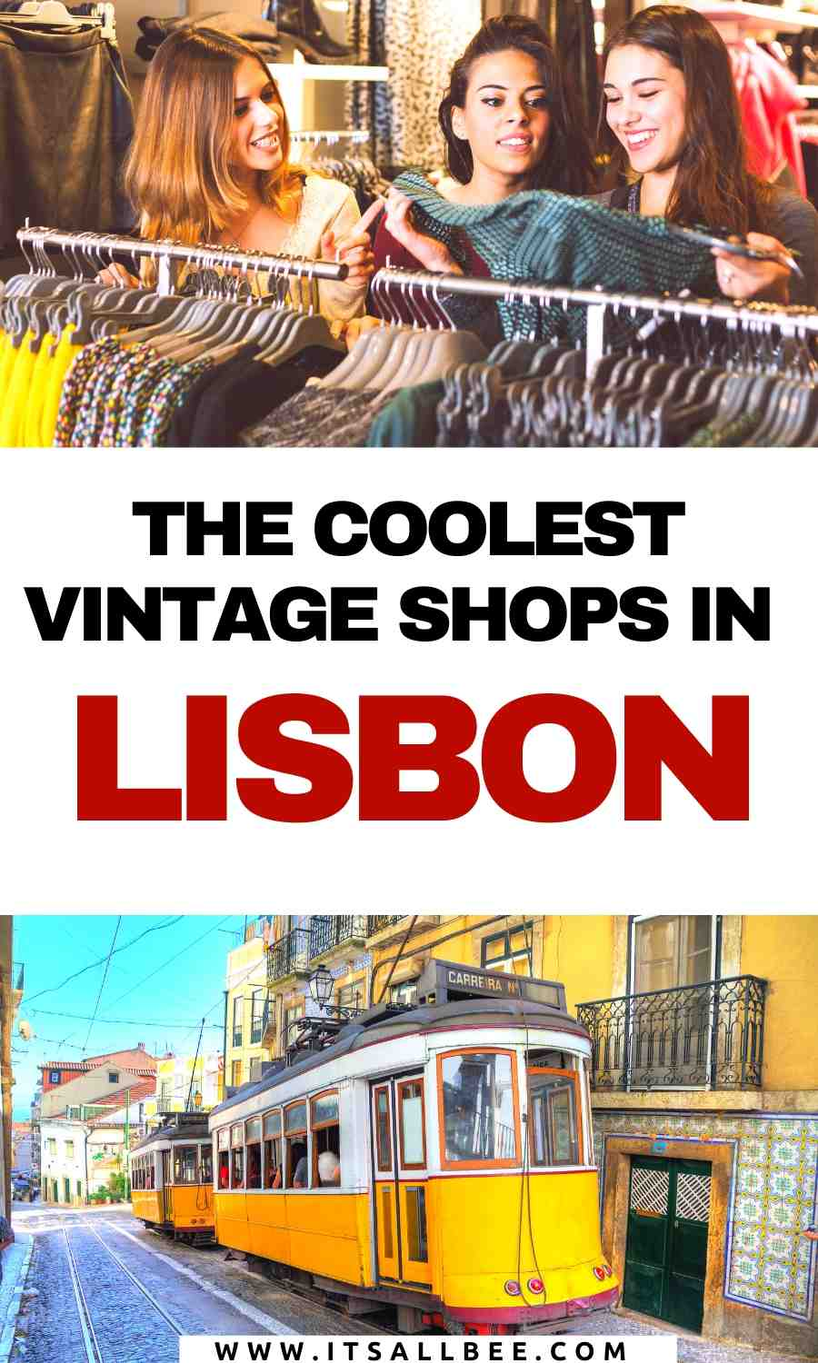 hrift stores lisbon Portugal | second hand clothes lisbon | coolest shops in lisbon