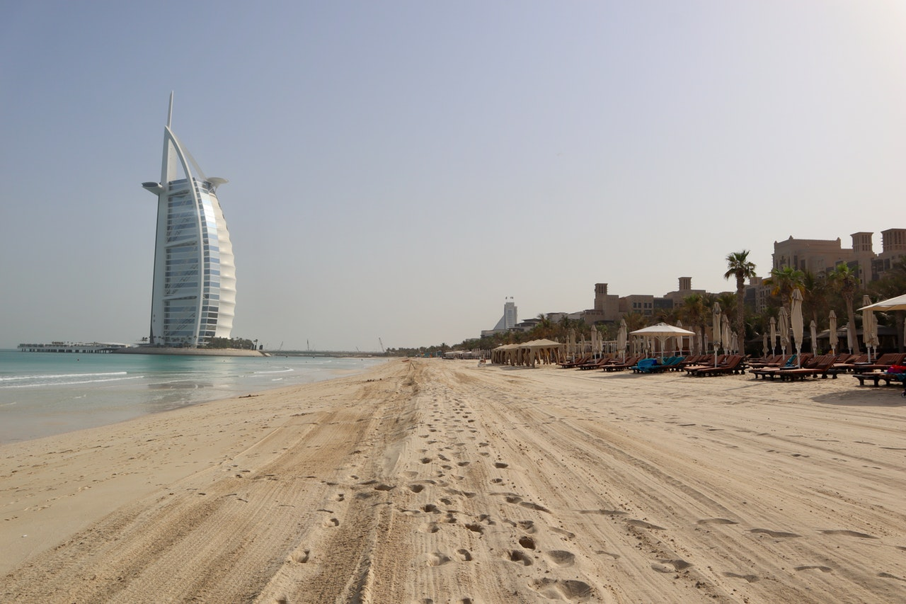 Burj Al Arab Beach Romantic ideas for Dubai