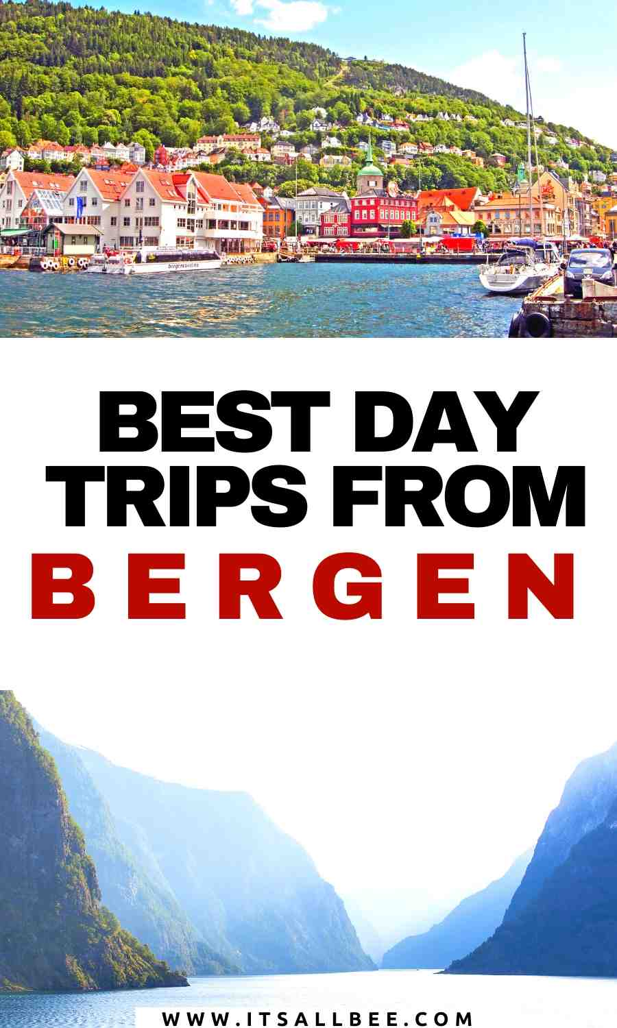 day trips to fjords from bergen norway