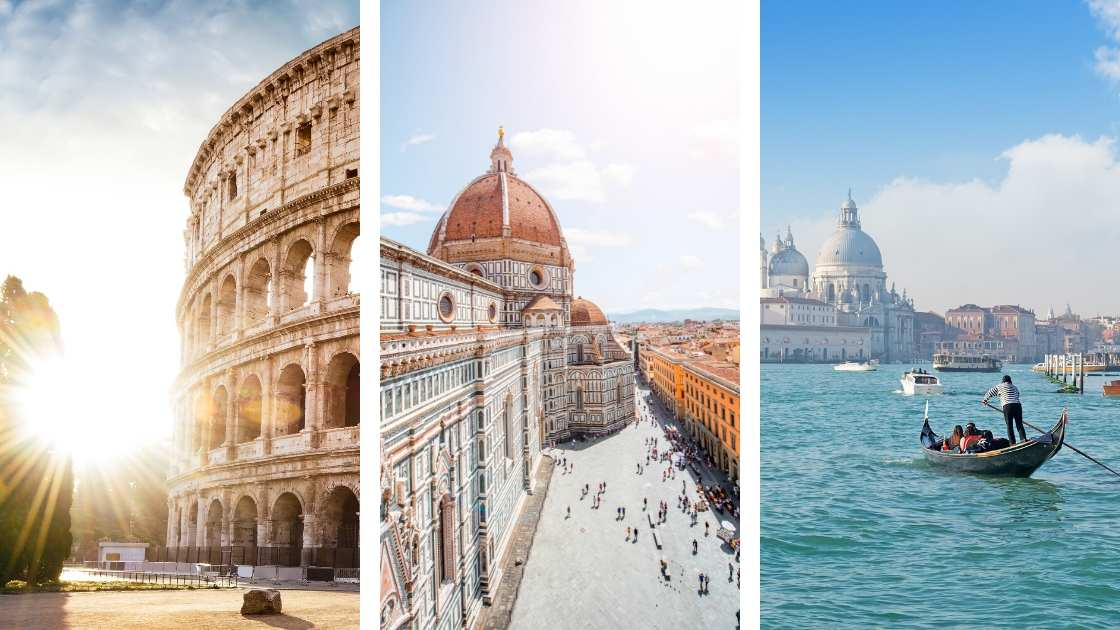 rome venice florence trip itinerary | 10 day itinerary Rome florence venice