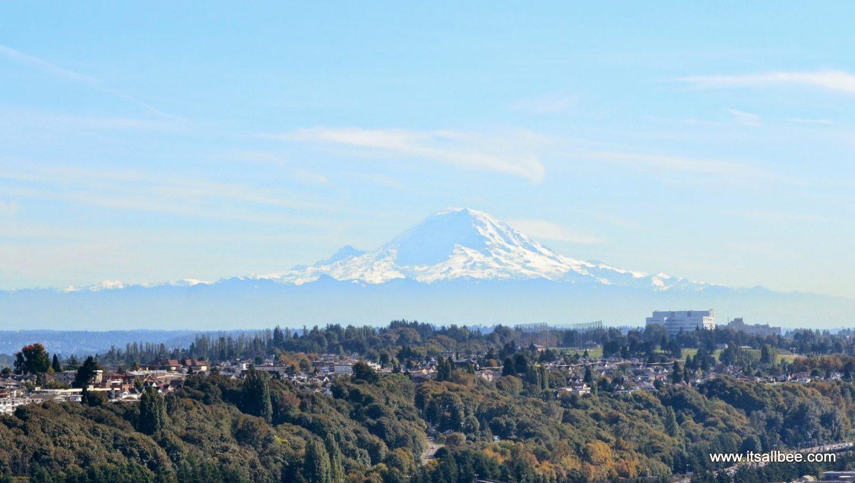 Mount Rainier Views From Seattle